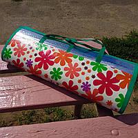 Распродажа! Подстилка коврик для пляжа моря пикника на землю PROFI 160х142 см зеленый (С 3653 1)