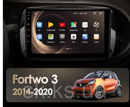 Junsun 4G Android магнітола для Mercedes-Benz Smart Fortwo 3 2014-2020