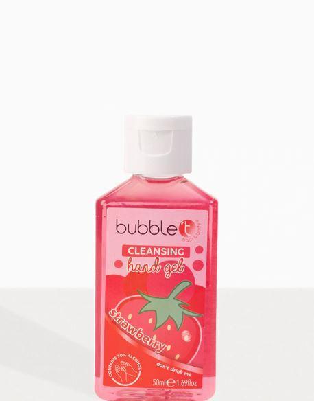 Санитайзер (антисептик) для рук Bubble T - Strawberry (Великобритания)