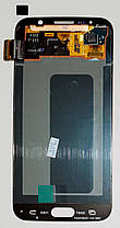 Модуль (сенсор+дисплей) для Samsung G920F Galaxy S6 AMOLED білий, фото 3