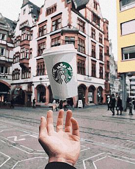 Картина по номерам Кофе с собой (BK-GX26598) 40 х 50 см