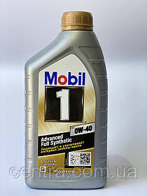 Моторное масло Mobil 1 0W-40 Advanced Full Synthetic 1L