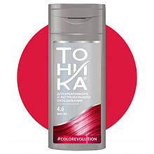 """Тоника оттеночный бальзам для волос """"Ruby Red"""" 4.6, 150 мл"""