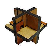 3D-головоломка деревянная Крутиголовка Суперсимметрия krut0035, КОД: 119810
