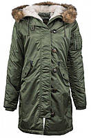 Куртка Alpha Industries Elyse L Sage, КОД: 1313190