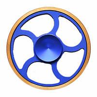 Спиннер Spinner Синий с золотым tdx0000223, КОД: 394900