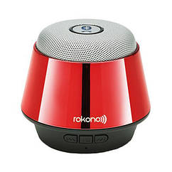 Портативная Bluetooth колонка Rokono B10 Bass Red 0957, КОД: 197631