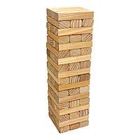 Настольная игра Дженга Крутиголовка из ясеня с фаской Премиум krut0281, КОД: 120062