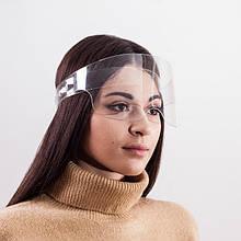 Захисний акриловий екран для особи у формі окулярів висотою 9 см