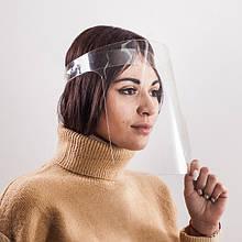 Захисний акриловий екран для обличчя висотою 24 см