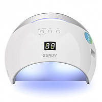 Лампа BTB SUN6 для сушки гель лаков 48W LED UV Белая 56170, КОД: 1350404