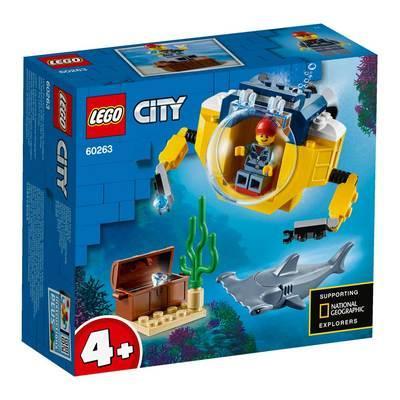 Конструктор LEGO City Океан мини-субмарина (60263)