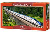 Пазл Castorland Скоростной поезд 600 элементов B-060146 tsi38256, КОД: 287908