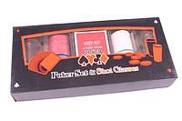 Набор для игры в покер Duke 100 фишек 2 рюмки PG22100, КОД: 119654