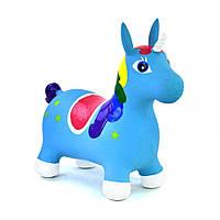Прыгун Голубой Единорог Kronos Toys C17120 Голубой tsi55087, КОД: 288257