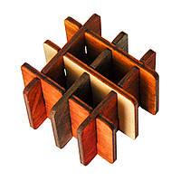 3D-головоломка деревянная Крутиголовка Три на три krut0036, КОД: 120249