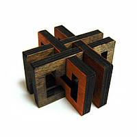 3D-головоломка деревянная Крутиголовка Перекресток krut0034, КОД: 120220