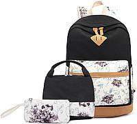 Рюкзак для девочки и набор сумочек Teen Girls Backpacks With Lunch Bag, фото 1