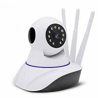 Беспроводная панорамная IP камера видеонаблюдения/видеоняня NET Smart CAMERA 3 антенны