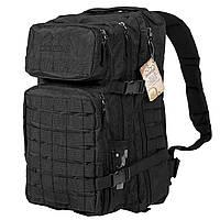 Тактический военный рюкзак Hinterhölt Jäger 32 л Черный SUN80189, КОД: 311190