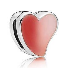 Клипса «Асимметричное сердце любви»