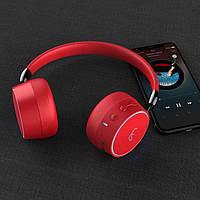 Беспроводные Bluetooth стерео наушники Gorsun GS-E95 Красные