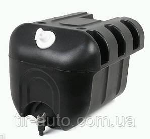 Бачок для воды на полуприцеп/прицеп 30 литров ( пластик с краном и дозатором моющего средства ) 101U050000-MR