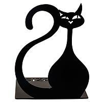 Упор для книг Glozis Black Cat G-024 15 х 10 см, КОД: 147561