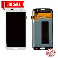 Модуль (сенсор + дисплей) для Samsung G935F Galaxy S7 Edge AMOLED белый