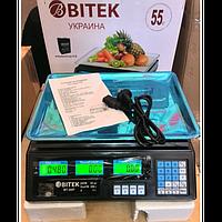 Торговые электронные весы VITEK ACS 208 6V до 55 кг