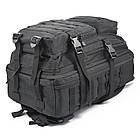 Рюкзак военный тактический штурмовой с USB Спартак Molle Assault 36L Black (007031), фото 3