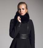 женское кашемировое пальто на весну