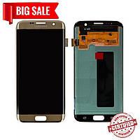 Модуль (сенсор + дисплей) для Samsung G935F Galaxy S7 Edge AMOLED золотой