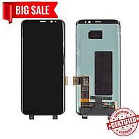 Модуль (сенсор + дисплей) для Samsung G950F Galaxy S8 AMOLED черный