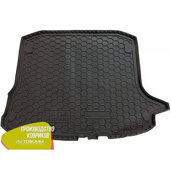 Автомобильный коврик в багажник Ваз Lada Largus 2012- (5-мест) (Avto-Gumm)