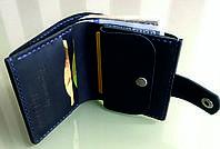 Кожаный кошелек ручной работы с именной гравировкой. Мужской и женский кожаный кошелёк. Эксклюзивный подарок.