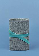Кожаный блокнот BlankNote 1.0 Серый BN-SB-1-st-flt-tiffany, КОД: 723759