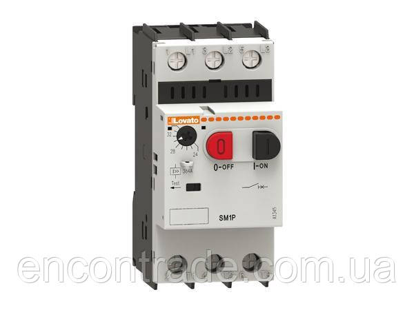 Автоматичний вимикач захисту двигуна SM1P 0025 (0,16-0,25 А)
