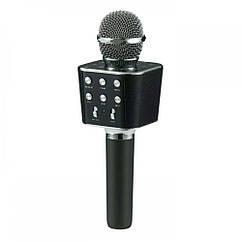 Беспроводной Bluetooth караоке микрофон WS-1688 Black G101001168, КОД: 913145