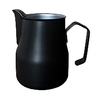 Професійний пітчер (молочник) Motta Europa 500 мл Чорний тефлон