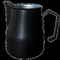 Профессиональный питчер (молочник) Motta Europa 750 мл Чёрный тефлон
