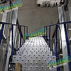 Драбина складська Н5000 мм, платформна драбина на колесах, фото 9