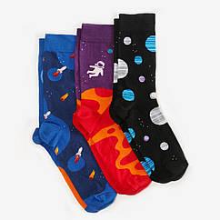 Носки женские Dodo Socks Space Oddity 36-38 набор 3 пары 009675, КОД: 1214506