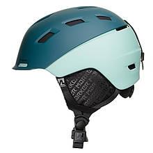 Шолом гірськолижний MARKER AMPIRE W M Green-Blue 168405.92M, КОД: 1398045