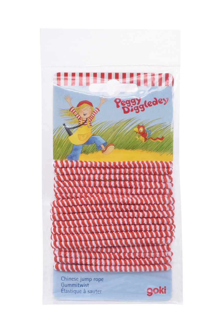 Скакалка-резинка Goki Peggy Diggledey (63925G)