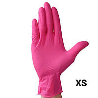 Перчатки нитриловые, 100 пар/200 шт, размер XS, фото 1