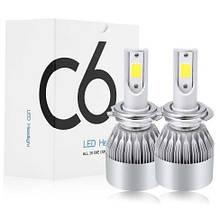 Комплект LED ламп C6 в туманки 5541, КОД: 1611908