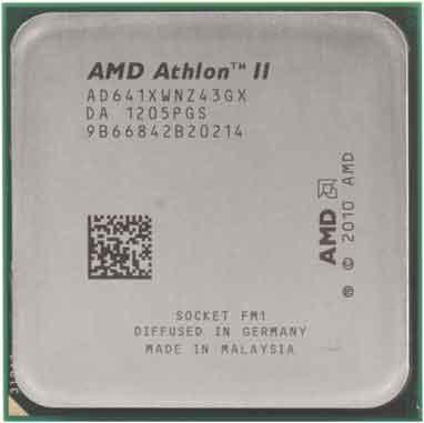 Процесор AMD Athlon II X4 641 2.8 GHz/ 4MB (AD641XWNZ43GX) Socket FM1