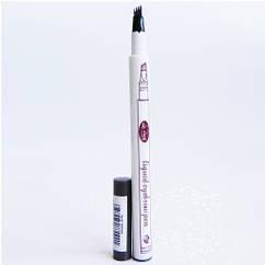 Водостойкий карандаш-маркер для бровей 24 HOURS LONG LASTING Графит hubVKOb57921, КОД: 1572955
