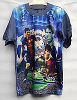 Футболка детская для мальчика 9-11 лет UEFA